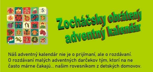 Zocháči spúšťajú Obrátený adventný kalendár