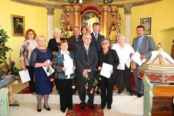 Jubilejná konfirmácia v evanjelickom kostole v Rakovnici