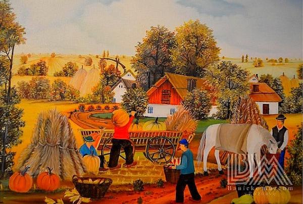 Život slovenského sedliaka na Dolnej zemi na výstave obrazov Kovačickej dvojky v Rožňave