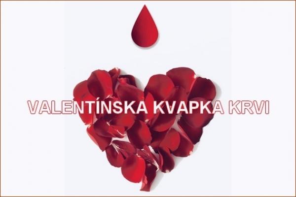 V Nemocnici Svet zdravia v Rimavskej Sobote môžete prísť darovať Valentínsku kvapku krvi