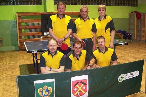 Predstavujeme mužstvá 5. ligy Gemer v stolnom tenise