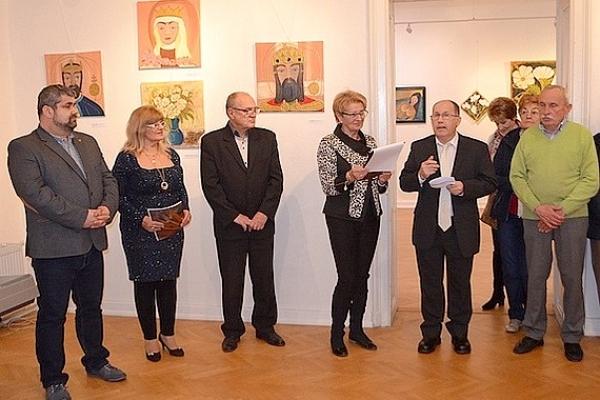 """V Galérii Baníckeho múzea v Rožňave otvorili autorskú výstavu Márie Gyarmati """"V mojej duši je večná jar"""""""