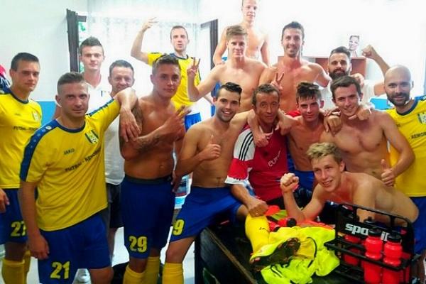 So štyrmi gólmi sa v Hrhove strelecky zaskvel Miroslav Demeter z Apexu Kružná