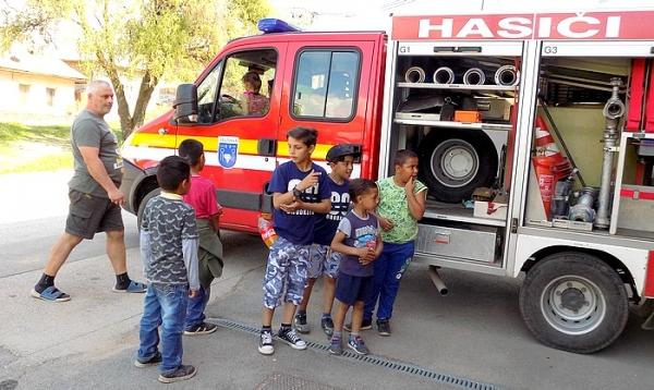 Jelšavské deti si 4. mája pripomenuli sviatok hasičov