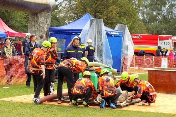 """Súťaž dobrovoľných hasičských zborov o """"Gemerský pohár"""""""