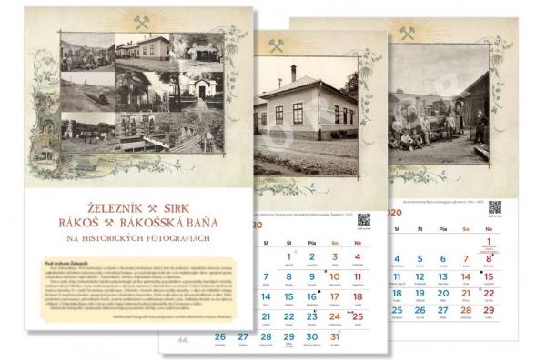 Občianske združenie Skryté Poklady Slovenska vydalo kalendár s pohľadmi do baníckej minulosti v Železníku