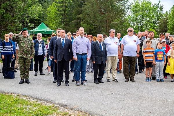 Výročie oslobodenia spod fašizmu za účasti ministra obrany SR Petra Gajdoša si pripomenuli aj na Veľkej lúke pod Muránskym hradom
