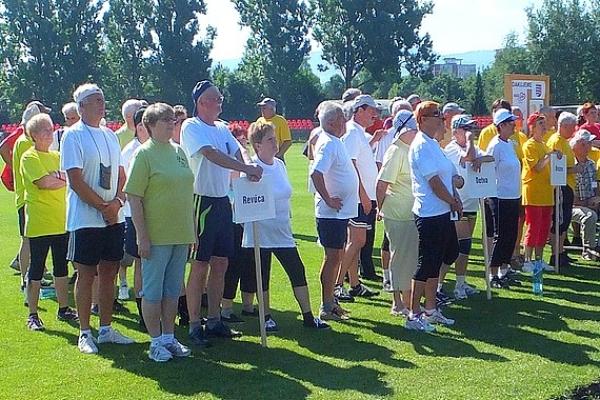Na krajských športových hrách seniorov v Brezne sa nestratili ani reprezentanti revúckeho okresu