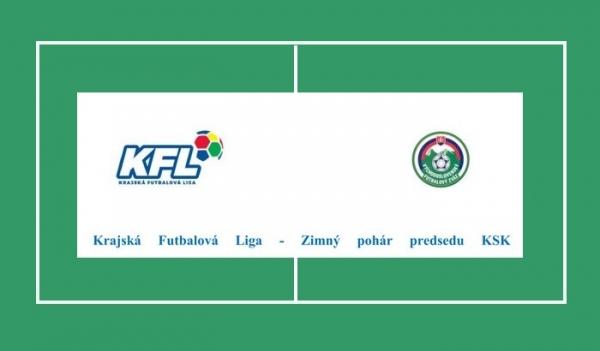 Zimnú futbalovú prestávku vyplní Krajská futbalová liga - Zimný pohár predsedu KSK