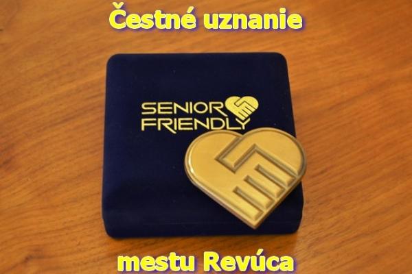 Súťažilo i mesto Revúca o ocenenie Senior Friendly 2017