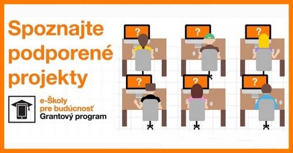 Rekordný počet žiadostí do grantového programu Nadácie Orange e-Školy pre budúcnosť