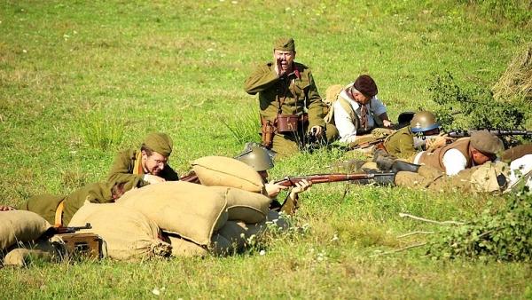 Ukážky bojov SNP v Rimavskej doline