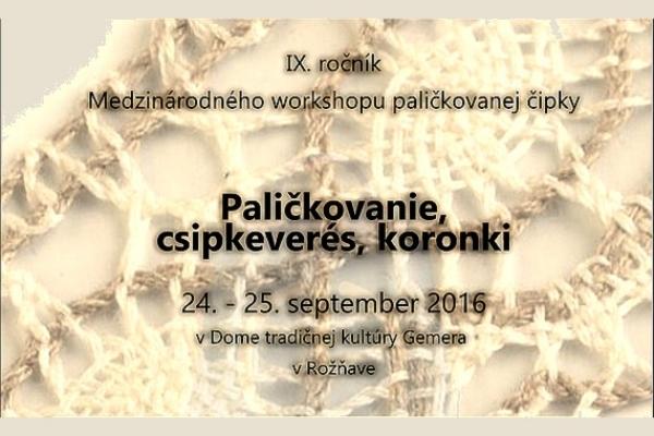 Umenie paličkovania predstavia v Rožňave nadšenci zrôznych miest Maďarska, Poľska aSlovenska