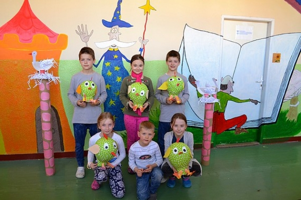 Deti v ŠKD pri ZŠ I. B. Zocha privítali jar