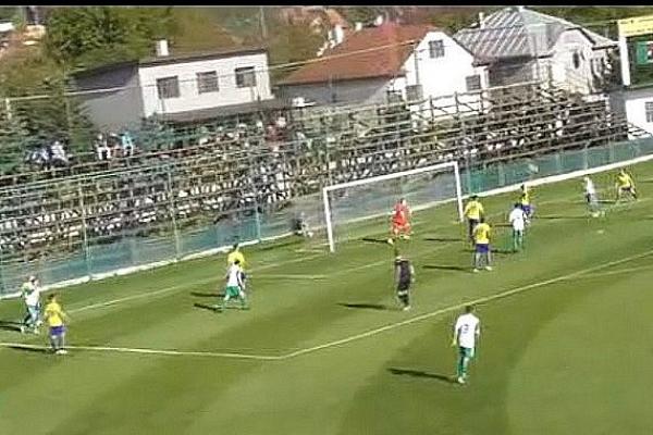 Prvé víťazstvo štvrtoligistov z Krásnohorského Podhradia v tomto futbalovom ročníku
