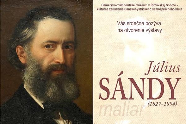 """Na výstave """"MALIAR JÚLIUS SÁNDY"""" uvidia návštevníci v Rimavskej Sobote vzácnu kolekciu jeho diel"""