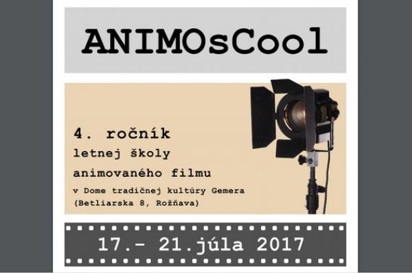 V júli začína ANIMOsCool - letná filmová škola