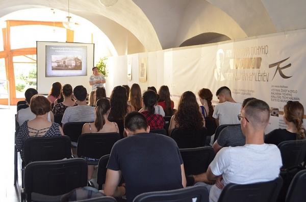 Gróf Dionýz Andrássy a jeho obrazáreň v Krásnohorskom Podhradí prostredníctvom prednášky Mgr. Evy Lázárovej