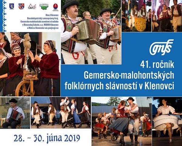 Sviatky Gemersko – malohontského folklóru v Klenovci otvárajú svoju bránu po 41. krát