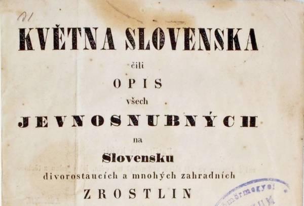 Května Slovenska Gustáva Reussa z roku 1853 ako predmet mesiaca marec