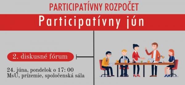 Druhé diskusné fórum a verejné zvažovanie k projektom Participatívneho rozpočtu pre Rožňavu