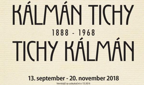 V Rožňave otvoria výstavu Kálmán Tichy (1888 – 1968)