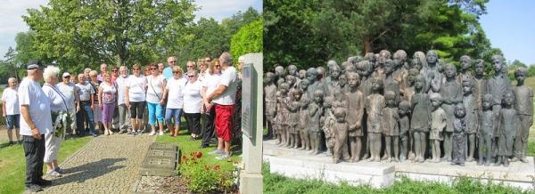 Revúcki odbojári za poznaním krutej minulosti navštívili Lidice a Terezín v Čechách