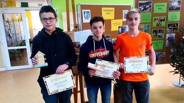 Víťazstvá a úspechy žiakov ZŠ J. A. Komenského