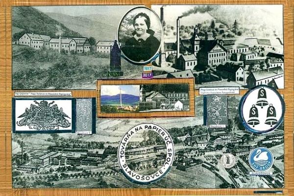 Historický pohľad na výrobu papiera v Slavošovciach