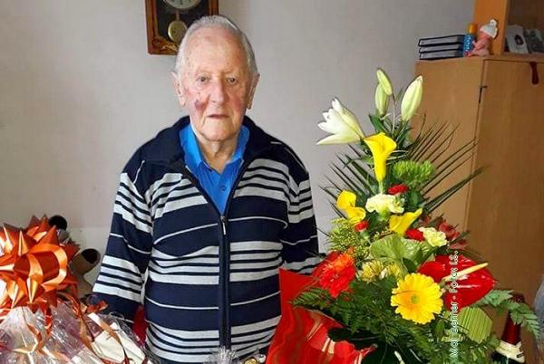 Slavošovský nestor PaedDr. Milan Sajenko oslávil 85 rokov od narodenia