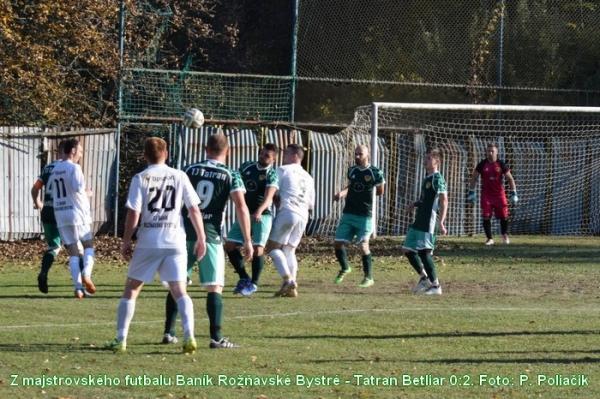 Futbalisti MFK Dobšiná sa nevyznamenávajú - nevycestovali do Dlhej Vsi