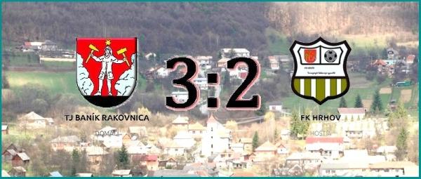 Potešiteľné víťazstvo Baníka Rakovnica v prvom majstrovskom zápase VI. ligy