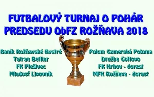 Základná časť futbalového turnaja O pohár predsedu ObFZ Rožňava rozhodla o semifinalistoch