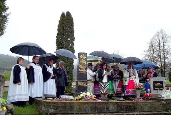 Spomienková slávnosť v Rejdovej pri príležitosti 100. výročia úmrtia evanjelického kňaza a podporovateľa Matice slovenskej Jána Končeka