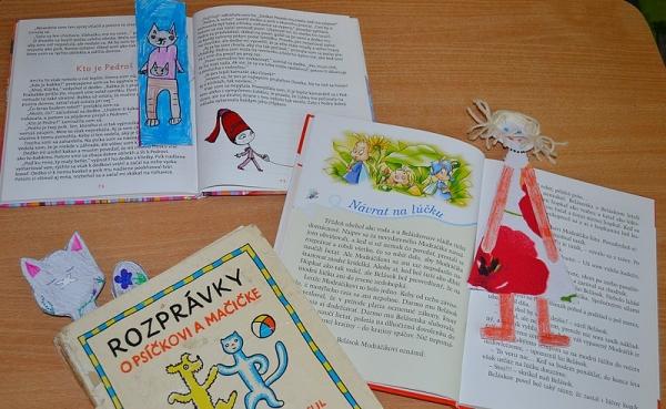 Zapojili sa do projektu Záložka do knihy spája školy: List za listom - baví ma čítať