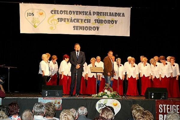 XVII. celoslovenská prehliadka speváckych súborov seniorov aj za účasti Gemerčanov