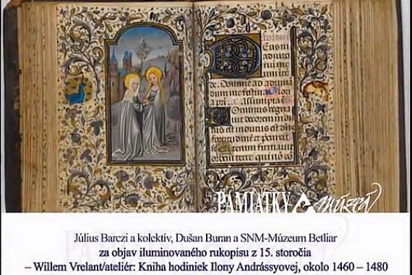 Knihu hodiniek Ilony Andrássyovej z Múzea v Betliari ocenenili Výročnou cenou 2016 časopisu Pamiatky a múzeá